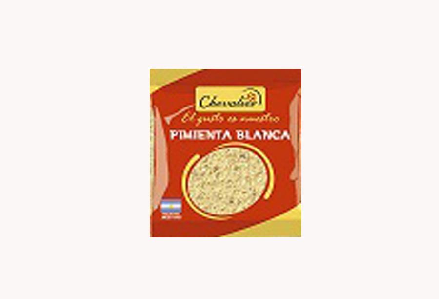 Pimienta Blanca Molida - CHEVALIER - x 1 Kg.
