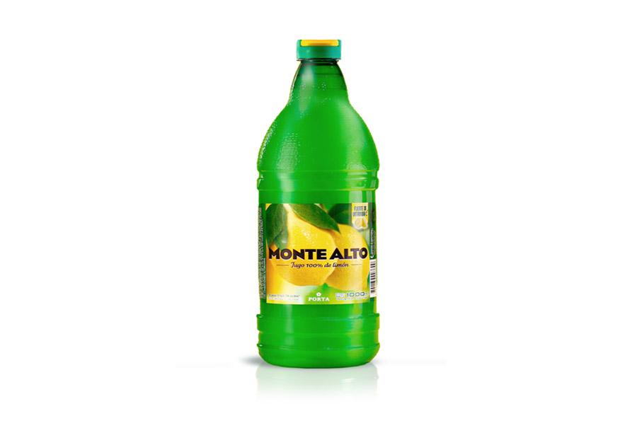 Jugo de Limon - MONTE ALTO - x 1000cc.