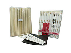Waribashi de Bambu Con Funda x 100u.
