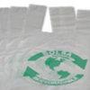 Bolsa Camiseta - PATIO MADERA - NEGRA 45x55 x100u.