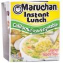 Sopa INST. Lunch - MARUCHAN - Vegetales C x 65 gr.