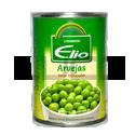 Arvejas en Lata - DON ELIO - x 350 gr.