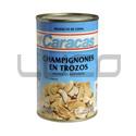 Champigñones Trozos - CARACAS - x 850 gr.