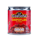 Chipotles Picados en Adobo - LA COSTENA - x 220 grs