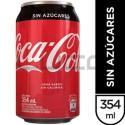Gaseosa - COCA COLA Sin Azucar Lata - x 310 cc.