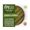 Hamburguesa Veg. Espinaca & Quinoa - SOYLAND - x 4u x 300 gr.