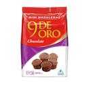Madalenas - 9 DE ORO - Chocolate / Chocolate