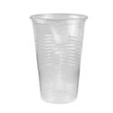 Vaso Plastico Traslucido 300cc - BEMIS - x 100u.