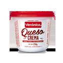 Queso Crema sin Sal - VERONICA - x 250 gr.