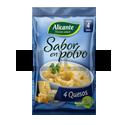 Sabor Polvo 4 Quesos  - ALICANTE - x 7,5 gr x 4u.